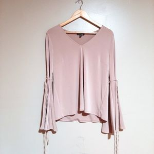 Express Pink Long Sleeve Shirt